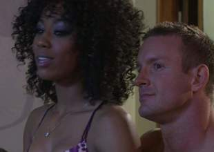 Alektra Blue and Misty Stone get their loaded with sweet pussies licked and team-fucked back interracial foursome. They bring hot guy to the edge of nirvana back this insane sexual intercourse orgy, Admirable porn action!