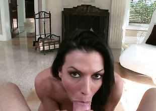 Rachel Starr is good on her identically to surrebuttal her bang buddy with her sexy mouth
