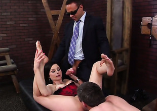 Veruca James is voluptuous as fuck after sucking Kurt Lockwoods tool