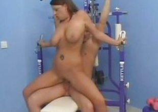 Wild milf Ann Stefani likes hard cock