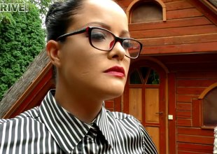 Homoerotic sex dolls smack till the end of time other's juicy cunts outdoors