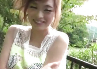 Top rated open-air POV uttered with kinky Mikuru Shiina