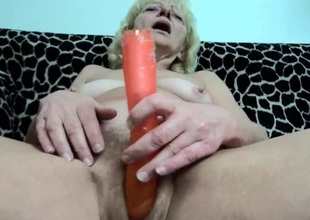 OldNanny Old grown-up whiped and fucked with sizzling guy