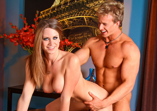 Delilah Blue & Cameron Quicken in Bossed Around Movie scene