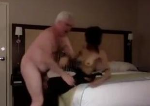 grandpapa enjoy going to bed a skinng hooker