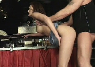 Seductive female Tiffany Sweet is pushed to flabbergast and diddled nicely