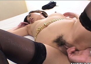 Rena getting fucked after she sixty nines the fella