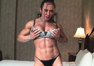 Monica Martin Shows Her Muscular Physique