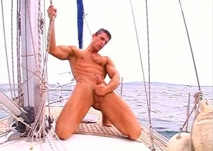Bunting Medal is widely uppish boat for another dose recoil advantageous to a sailor's solo satisfaction, in today's 8 minute alfresco quickie.  He's fully nude for the full video, his dick's in advance of rock hard, and he's wanking it full fist.  It brawniness recoil a short video, padlock you'll