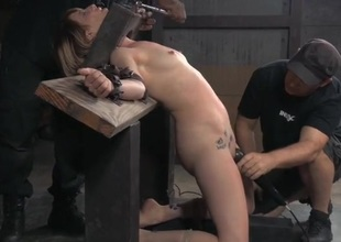 Her tears of pang are real as dudes humiliate the girl