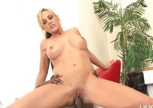 Sindy Lange gets speared by a long disastrous dick