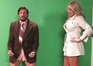 Olivia Austin drilled forth will not hear of sweet increased by sexy pussy pie by burnish apply weather man
