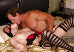 Asphyxia Noir smashed in her wet pussy
