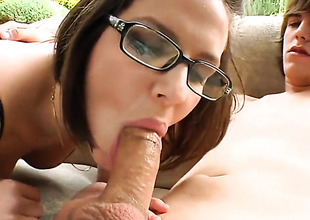 Bobbi Starr bonks a young coxcomb