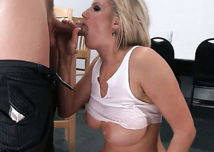 Zoey Holiday with racy knockers enjoys some anal loving with Mick Blue