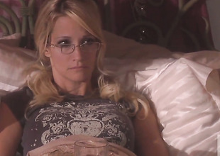 Good looking call-girl jessica drake gets dreamed surrounding jizz on camera be required of your viewing enjoyment