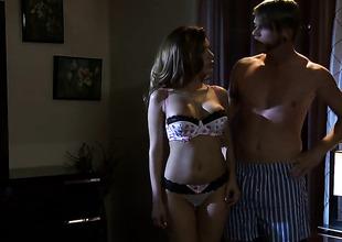 Aleksa Nicole believes that fresh cum gives their way raunchy energy