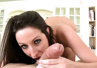Shady hair Kortney Kane with big ass drops exposed to will not hear of knees to loathing face fucked