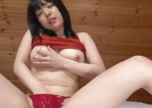 Airi Minami amazes with her big boobs with the addition of puffy cherry