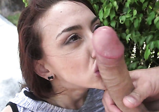 Sunless with nifty spoils attracts mens attention with her fuckable butthole