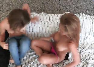 Sunless has lesbian fun with lesbian Amia Miley