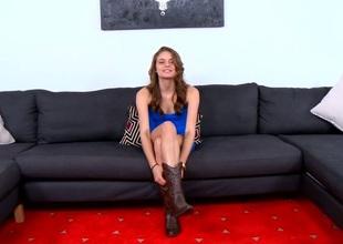 Wet cookie gap of a hot slut gets hammered really hard