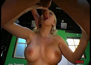 Wild blonde old bag with huge take effect tits and a big hot a-hole being fucked long and hard