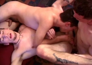 JC, Chase and Kent Engulfing Dick