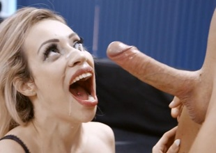 Busty Blonde Milf Chessie Kay Gets Nailed in the Office