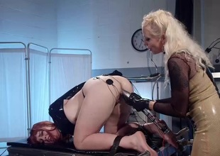 Inverted Sadomasochism with Lorelei Lee and Barbary Delicate situation
