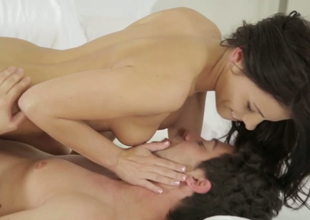 Breathtaking joyless whisker babe Adriana Chechik gets her muff licked by Seth Gamble