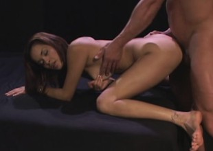 Limber young bill gets her mixed pussy pounded in to the balls
