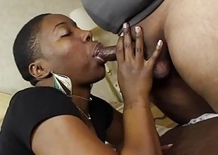 I gave this SLUT, Kenya Jones, a facet full of JIZZ