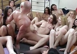 Damn Lucky Guy Fuck Harem with Twenty Gals !