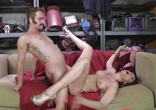 Dana DeArmond gets her sexy mean pussy licked and played with