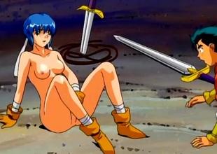 Adventurous hentai sex regarding big cock in a wet cunt