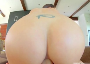Truly gorgeous girl fucked up the butt hard by a hard dick