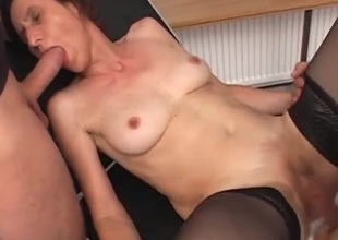 Being overhead top drives this hot milf wild with regard to lust
