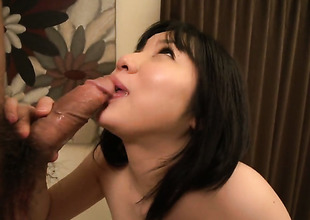 Sex starved slut Airi Minami has some dirty dealings dreams to become a reality