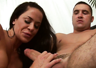 Savannah Stern with juicy ass takes a fantasy shower with regard to spunk flow sham