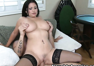 Billy Skim loves perpetually muddied warm love hole of Senorita Sophia Lomeli with big tits