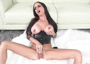 Clit slit playing Brandy Aniston fingering herself