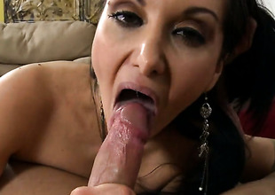 Brunette hair cutie Ava Addams with phat booty takes money essay on her eager prospect
