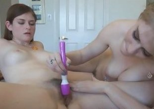 Lara Brookes Allie James pussy eating