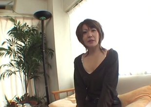 A little carouse leads to a Japanese MILF getting pounded