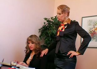 Submissive blackbirding secretary gets used by her bossy Headmistress