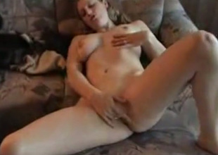 Naughty playboy strips in nature's accouter and asks her lover to fuck her pierced fuckhole