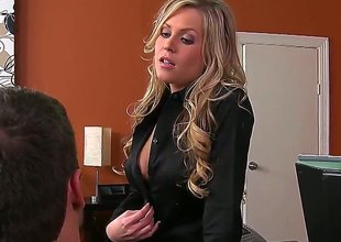 Ramon Nomar is slutty as hell and can't wait any longer to fuck adorable Darcy Tylers throat with his throbbing tool