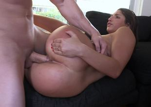Supple young lady Abella Danger riding Jmac's terrific pecker