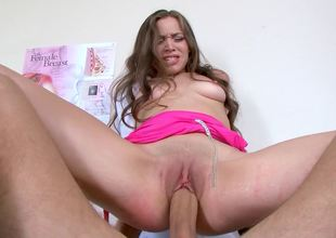 Young doctor Tiffany Starr fucks her big cock patient
